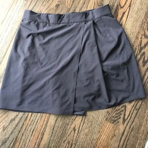 Athleta athletic skort black size 6